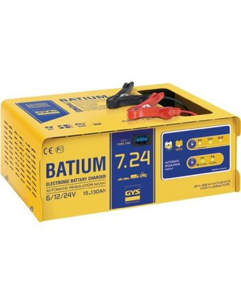 Batterieladegerät BATIUM 7-24 6/12/24 V effektiv:11/arithmetisch:3-7 A GYS
