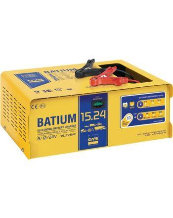 Batterieladegerät BATIUM 15-24 6/12/24 V effektiv:22/arithmetisch: 7-10-15 A GYS