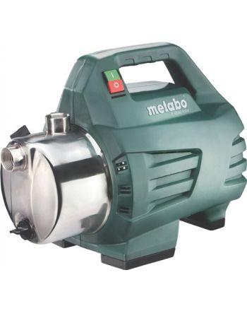 Gartenpumpe P 4500 Inox 4500 l/h 48m 4,8bar 1300W VA 25,4mm (1Zoll) IG METABO