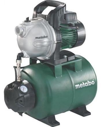 Hauswasserwerk HWW 4000/25 G 4000 l/h 46m 8m 1100W STA 24l METABO