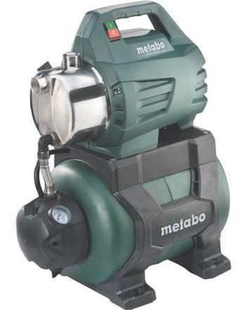 Hauswasserwerk HWW 4500/25 Inox 4500 l/h 48m 8m 1300W STA 24l METABO