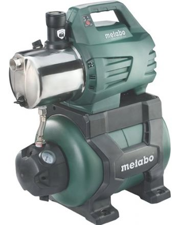 Hauswasserwerk HWW 6000/25 Inox 6000 l/h 55m 8m 1300W STA 24l METABO