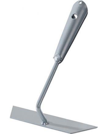 Ziehhacke Arbeits-B.160mm Blattmaß 45mm o.Stiel silberpulverbeschichtet