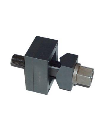 Blechlocher - Rechtecklocher für schwere Steckverbinder und Kabeldurchführungen mit in die Matrize integrierten Ankörnspitzen